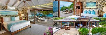 Petit St Vincent, Beach Villa