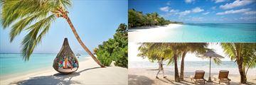 LUX South Ari Atoll beach views