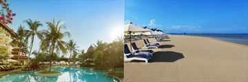 Grand Mirage Resort & Thalasso Spa, pool and beach