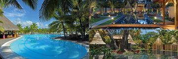 The pool and spa at Shandrani Beachcomber Resort & Spa