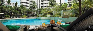 Shangri-La Kuala Lumpur swimming pool views