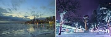 Beautiful Toronto Cityscapes in the Winter Months