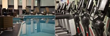 Toronto Marriott City Centre Hotel, Indoor Pool and Fitness Centre