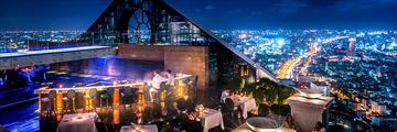 Tower Club at lebua, Breeze Bar and City Views