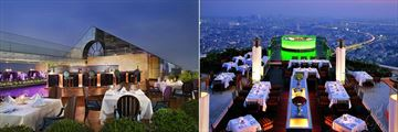 Tower Club at lebua, Breeze Restaurant, Sirocco and Sky Bar