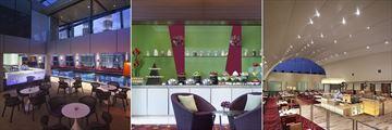 The Skybar, Food Station and Gobo Chit Chat Restaurant at Traders Hotel Kuala Lumpur