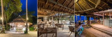 Al Fresco, Roots Restaurant & Lounge and Sundowner Bar at Treehouse Villas