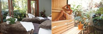 Treetops Lodge & Estate, Spa Treatment Room and Sauna