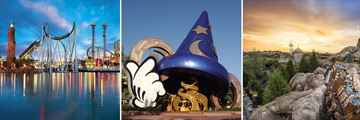 Universal Studios & Walt Disney World, Orlando