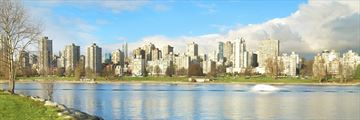 Vancouver park skyline