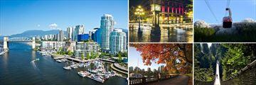Vancouver, Grouse Mountain, Stanley Park & Suspension Bridge