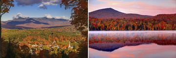 Vermont & Stowe in the Autumn
