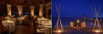 Viceroy Riviera Maya, La Marea and Private Beach Dinner and Pier