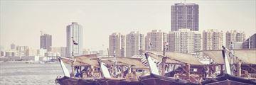 View of Ajman's skyline