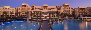 Saadiyat Rotana Resort & Villas, Hotel Entrance and Pool