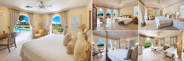 Bedrooms at Villa Benjoli Breeze