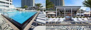 Pool and Wet Bar at W Fort Lauderdale
