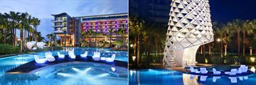 W Singapore - Sentosa Cove, Hotel Wet Pool and Wet Bar