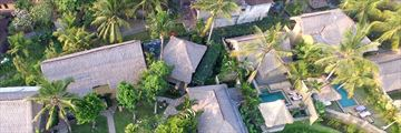 Wapa Di Ume Resort & Spa, Ubud, Aerial View of Resort