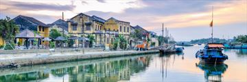 Waterfront Along River in Hoi Vietnam