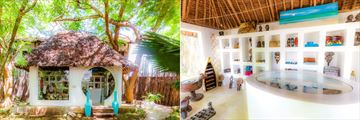 Boutique Exterior and Interior at WaterLovers Beach Resort, Diani Beach
