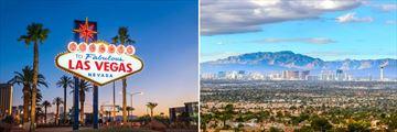 Las Vegas Welcome Sign & Skyline, Nevada