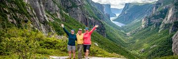 Exploring Western Brook Pond Fjord, Gros Morne National Park, Newfoundland & Labrador