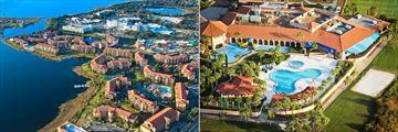 Westgate Lakes Resort & Spa, Aerial View of Resort and Pools