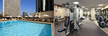 Pool and Fitness Centre at Westin Bonaventure