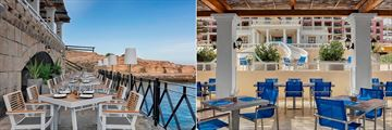Bouthouse Lounge and Palios Restaurant at The Westin Dragonara