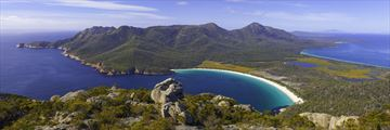 Wineglass Bay views, Tasmania