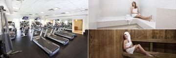Fitness Centre, Steam Room and Sauna at Wyndham Orlando Resort