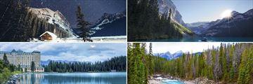 Scenic Vistas of Yoho National Park & Lake Louise