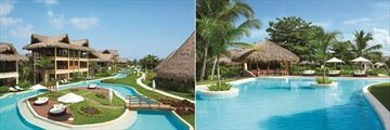 Resort and Pool, Caicu Bar and Pool at Zoetry Agua Punta Cana