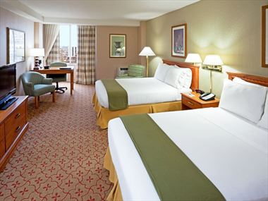 Double guestroom, Holiday Inn Express Philadelphia