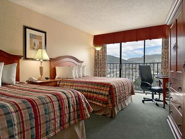 Double guestroom, Red Lion Salt Lake City