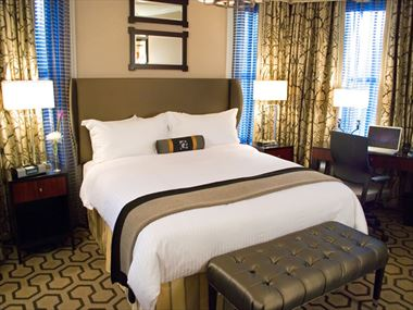 King guestroom, The Copley Square
