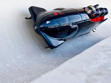 Bobsleigh at WinSport