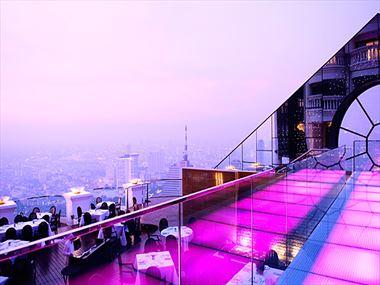 Breeze restaurant at Tower Club at lebua