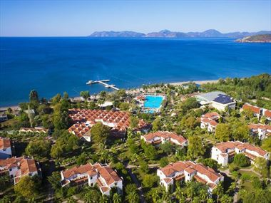 Aerial view of Club Hotel Tuana