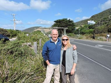 Pam & John share their Australian holiday story