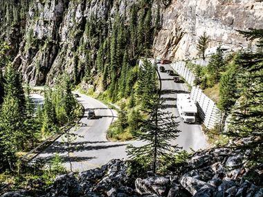 Getting around British Columbia and where to stay