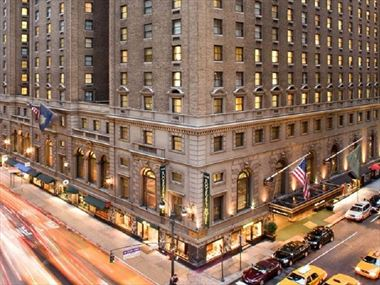 Exterior View, The Roosevelt Hotel