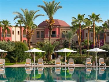 The pool at Iberostar Club Palmeraie Marrakech