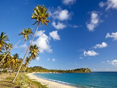 Jennie Bond shares her love of Antigua - a place of sunshine, beaches, music & laughter