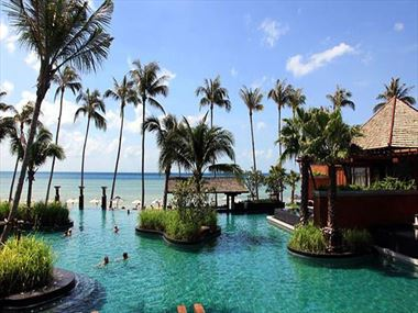 Main swimming pool at Mai Samui