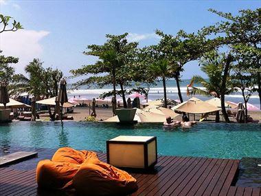 Poolside at Anantara Seminyak