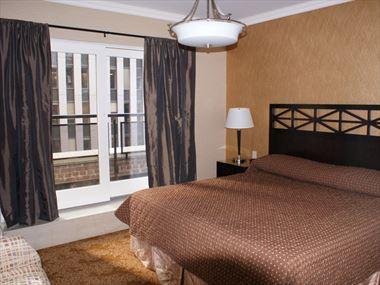 Bedroom, Radio City Apartments