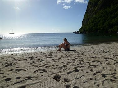 A romantic St Lucia honeymoon with Lorraine & Mark