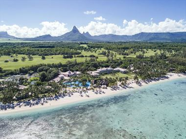Aerial view of Sugar Beach Resort & Spa